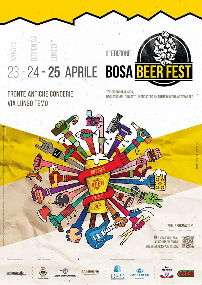Bosa Beer Fest 23 - 24 - 25 Aprile 2016.