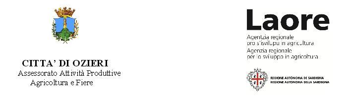 Comune di Ozieri Assessorato Attività Produttive Agricoltura e Fiere e Laore Premio Casu 2016. 5° concorso formaggi vaccini a pasta filata a Ozieri.