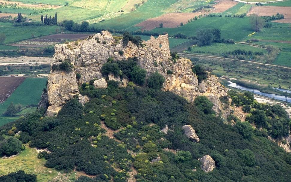 Galtellì castello di Pontes