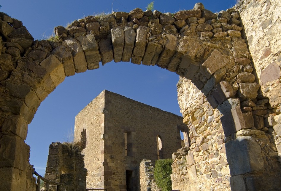 Laconi il castello del parco Aymerich