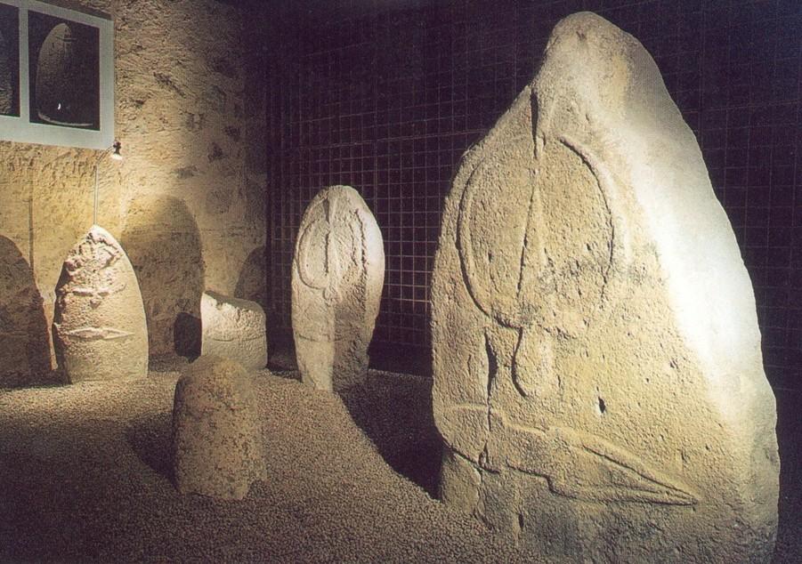 Laconi museo delle statue menhir