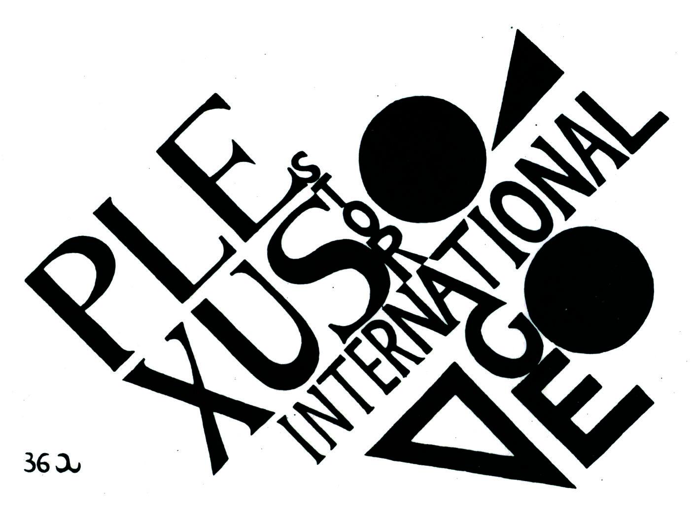 Marchio PLEXUS di Gaetano Brundu. Domenica 10 aprile 2016 in occasione del finissage della mostra Plexus International Storage l'EXMA propone laboratori e visite guidate dedicati a  bambini e adulti.