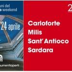 Carloforte e Sant'Antioco vi aspettano sabato 23 e domenica 24 aprile per Monumenti Aperti 2016.