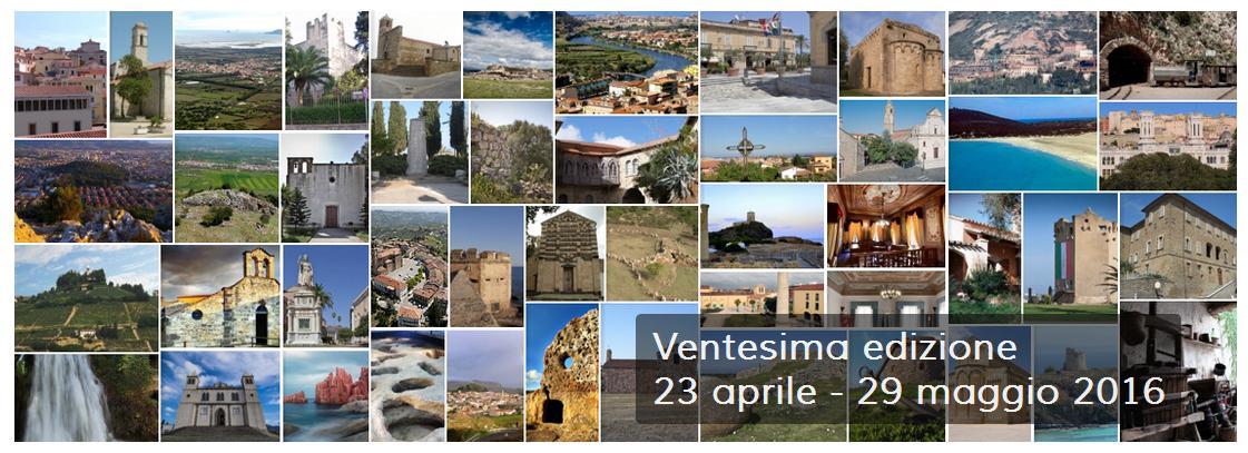 Monumenti Aperti Ventesima edizione dal 23 aprile al 29 maggio 2016