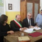 Ieri a Sassari nell'Istituto comprensivo di San Donato il sindaco Nicola Sanna alla presenza del presidente della Regione Francesco Pigliaru ha firmato l'accordo di programma sugli interventi territoriali integrati.