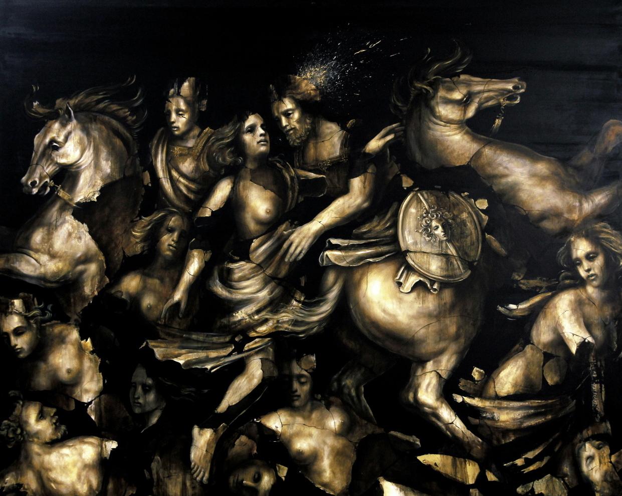 Jacopo Scassellati Raptus Sabinorum 2015