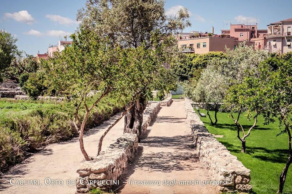 L'Orto dei Cappuccini a Cagliari è un luogo simbolico ma è anche il collegamento fisico tra un versante e l'altro della città. L'Orto ora aperto al pubblico permetterà agli studenti del polo universitario, ai cittadini e ai visitatori di raggiungere più facilmente il Centro storico, l'Anfiteatro romano, l'Orto botanico e il Parco dell'Ospedale civile.