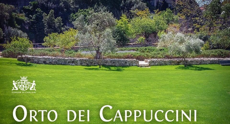 Riapre venerdí 27 maggio 2016 l'Orto dei Cappuccini in viale Merello a Cagliari.