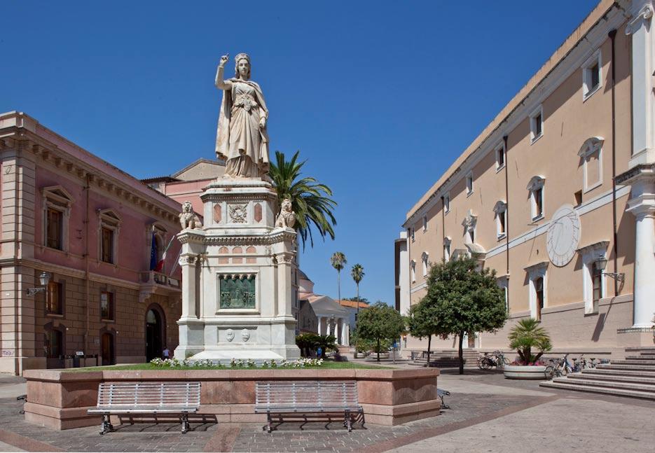 Piazza Eleonora Monumenti aperti Oristano 2016
