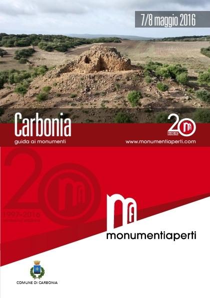 Sabato 7 e  domenica 8 maggio Carbonia ospita Monumenti Aperti 2016