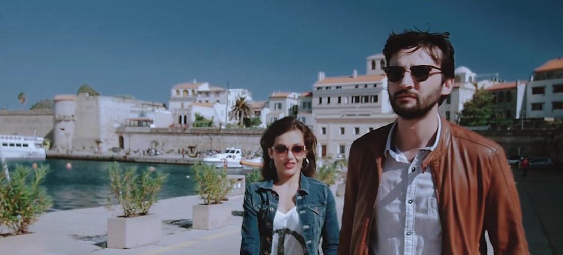 Alghero Porto scena del Video Clip di Dave Ruda L'Amore Esplode