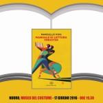 ISRE – Presentazione del libro di Marcello Fois Manuale di lettura creativa venerdì 17 giugno 2016 presso il Cortile del Museo del Costume di Nuoro.