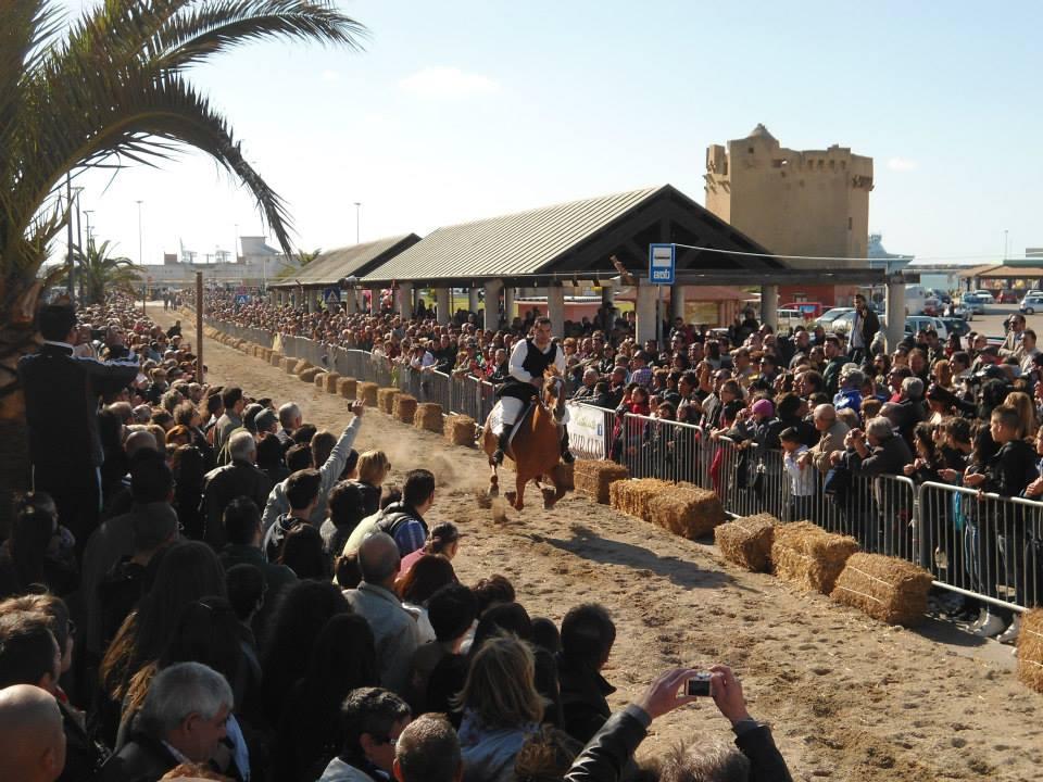 Programma del Palio di Santu Bainzu a Porto Torres domenica 12 giugno 2016.