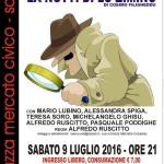 """Nella piazza del Mercato civico sabato 9 luglio 2016 la Compagnia Teatro Sassari in collaborazione con il Gremio dei Macellai presenta """"La notte di lu ziminu""""."""
