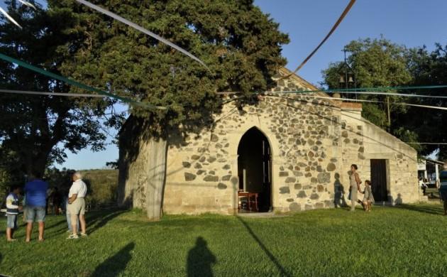 La chiesa della Madonna di Carcaxia Mogoro, dove andare, dove dormire e dove mangiare a Mogoro. Turismo a Mogoro.
