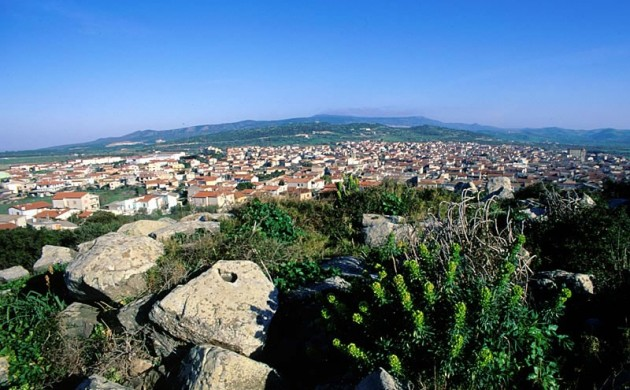 Mogoro panorama, dove dormire e dove mangiare a Mogoro, informazioni turistiche su Mogoro Oristano Sardegna.