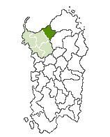 Anglona Cartina. Anglona Regione storico-geografica della Sardegna settentrionale.