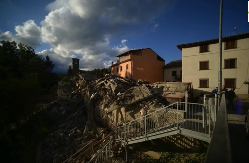 Terremoto del 24 agosto 2016 uomini da Alghero e Florinas per aiutare i terremotati anche la Sardegna porta la sua solidarietà