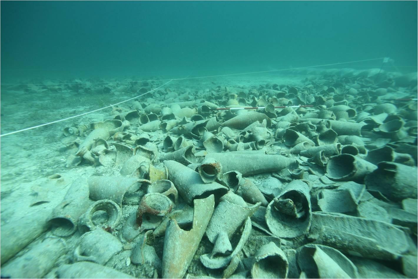 Riapre al pubblico il tesoro archeologico subacqueo dell'Asinara il sito sarà visitabile per tutta la stagione a partire dal 1 agosto al 15 settembre 2016.