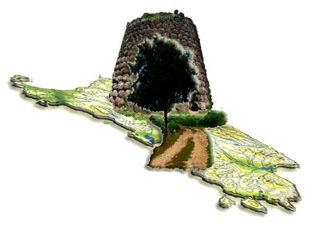 Logo del Portale del Turismo e della Cultura Le Vie della Sardegna