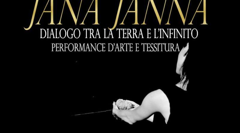 Jana Janna. Dialogo tra la Terra e l'Infinito 1 Ottobre 2016 Sarule Piazza San Michele.