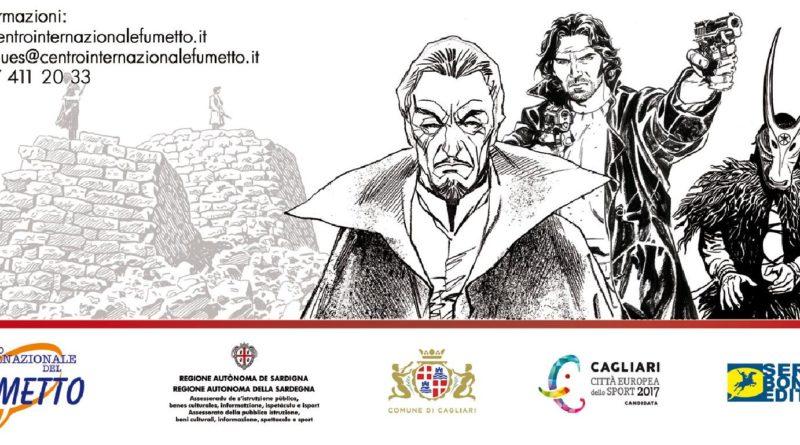 Mostra di tavole del fumetto Dampyr di Mauro Boselli alla Mem di Cagliari visitabile fino al primo ottobre 2016.