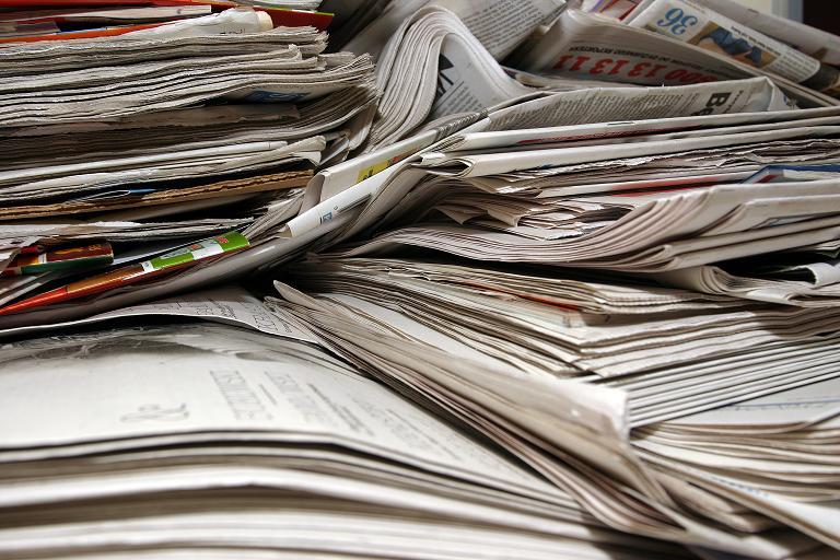 Raccolta straordinaria di carta a Carbonia per un sostegno concreto alle vittime del terremoto.
