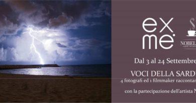 Voci della Sardegna Mostra Fotografica presso l'Exme e Caffè Letterario Nobel '26 di Nuoro fino al 24 settembre 2016.