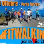 Fitwalking per la Vita 2016 – Manifestazione sportiva dedicata al cammino domenica 30 ottobre a Porto Torres organizzata da Scuola Sarda del Cammino di Sassari.