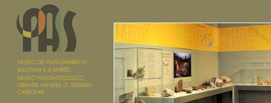Il Museo PalaeoAmbienti Sulcitani-PAS E.A. Martel il 21 ottobre 2016 ospiterà un seminario dedicato ai più recenti ritrovamenti di tracce fossili rinvenuti nei depositi pleistocenici del sud ovest della Sardegna l'ingresso è libero. L'Evento è organizzato nella Settimana del Pianeta Terra 2016 ed è organizzato dal Museo PalaeoAmbienti Sulcitani-PAS E.A. Martel, Università di Cagliari - Dipartimento di Scienze Chimiche e Geologiche; Comune di Carbonia; AIQUA (Associazione Italiana per lo studio del Quaternario); Consorzio del Parco Geominerario Storico Ambientale della Sardegna.