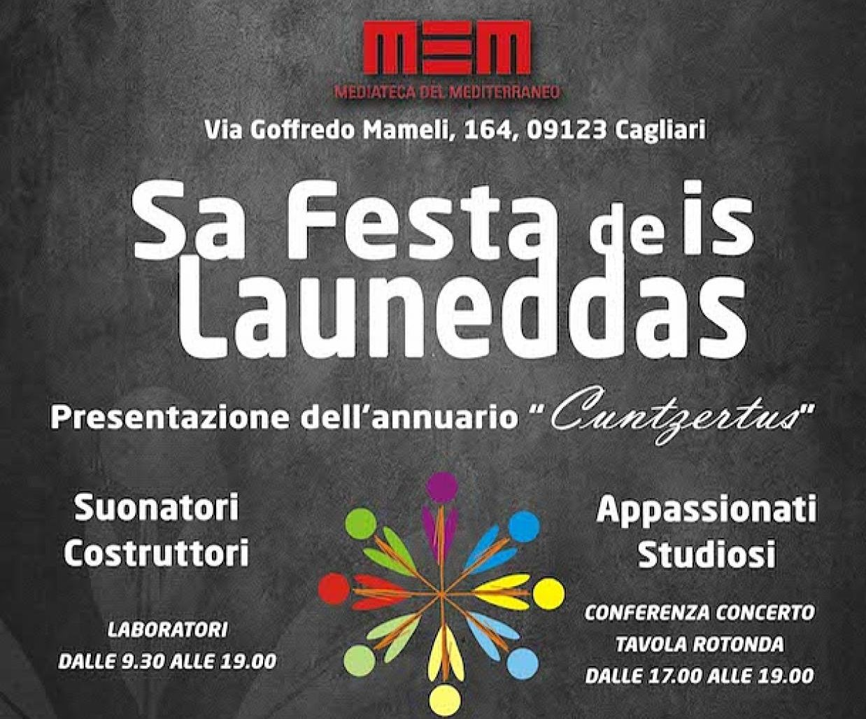 Sabato 3 dicembre sarà la giornata dedicata alle Launeddas. SA FESTA DE IS LAUNEDDAS