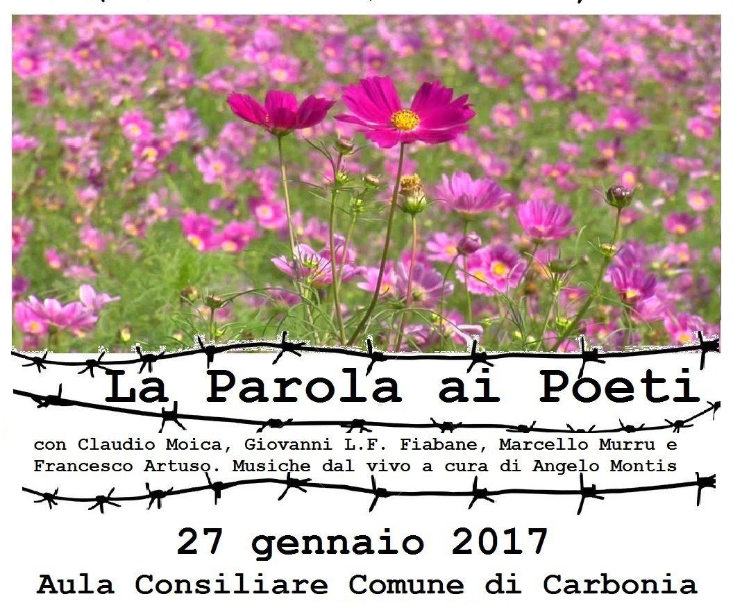Venerdì 27 Gennaio 2017 a Carbonia appuntamenti per Il Giorno della Memoria.