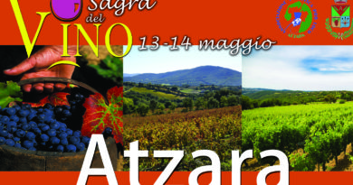Sagra del Vino Atzara 14 e 15 maggio 2017