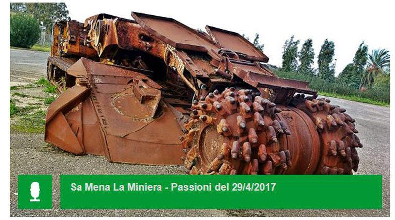 """Sabato 29 aprile 2017 a RAI Radio 3 la prima puntata di """"Sa Mena - La Miniera: Racconti di Minatori Sardi"""" a cura del giornalista Gianluca Diana."""