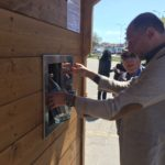 Inaugurata la prima Casa dell'acqua oggi a Porto Torres.