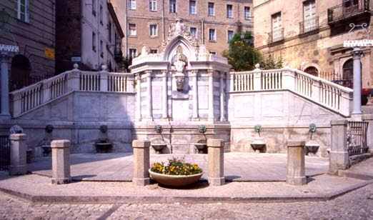Fontana Grixoni Ozieri provincia di Sassari