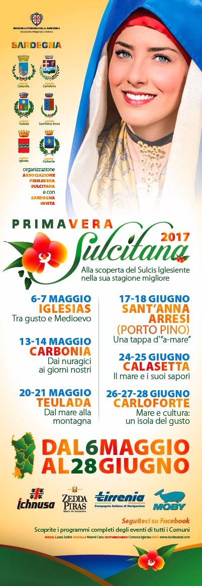 Primavera Sulcitana 2017 tutti gli appuntamenti