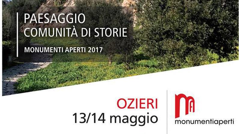 Monumenti Aperti Ozieri 13 e 14 maggio 2017.