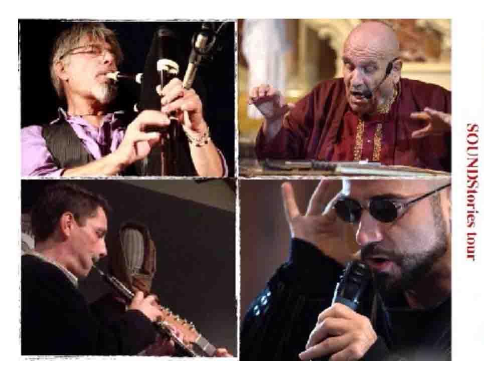SoundStories gruppo. SOUNDStories in concerto Giovedì 29 giugno 2017 ore 20:30 Cortile superiore del Museo del Costume Via A. Mereu 56 Nuoro.