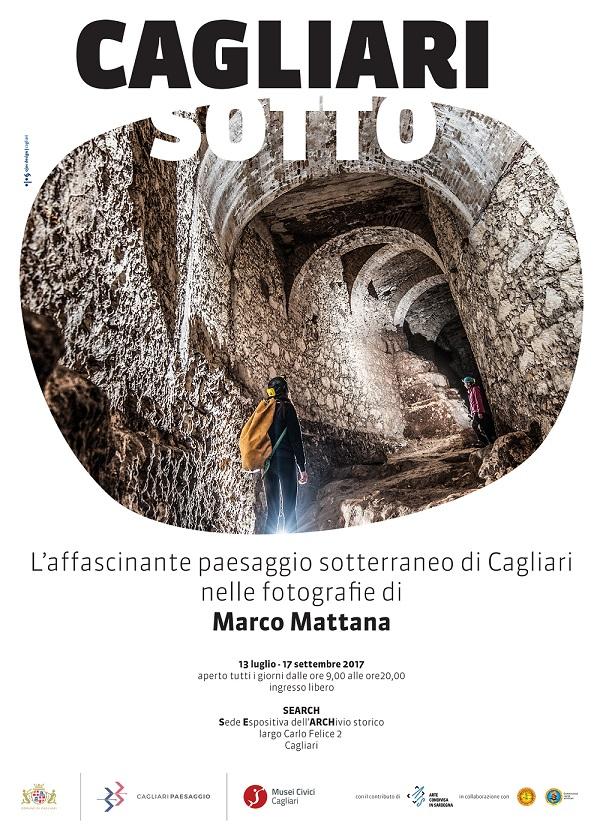 Mostra fotografica Cagliari Sotto di Marco Mattana Musei Civici di Cagliari dal 13 luglio al 17 settembre 2017 con ingresso libero.