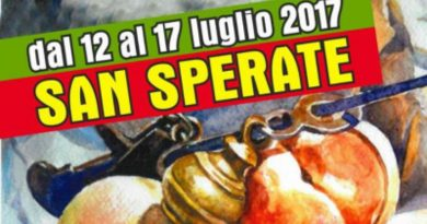 Sagra delle Pesche di San Sperate dal 12 al 17 luglio 2017 è la 56esima edizione.
