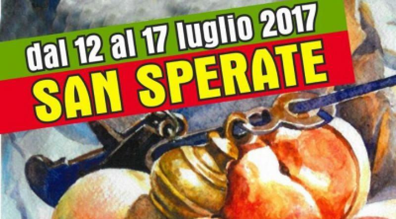 Sagra delle Pesche di San Sperate dal 12 al 17 luglio 2017