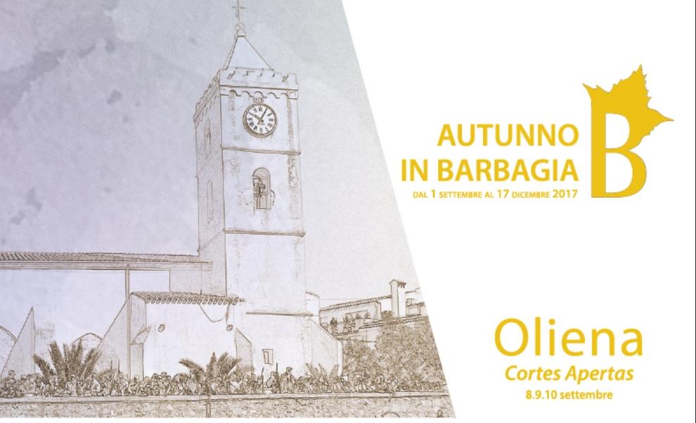 Programma di Oliena da venerdì 8 a domenica a 10 settembre 2017