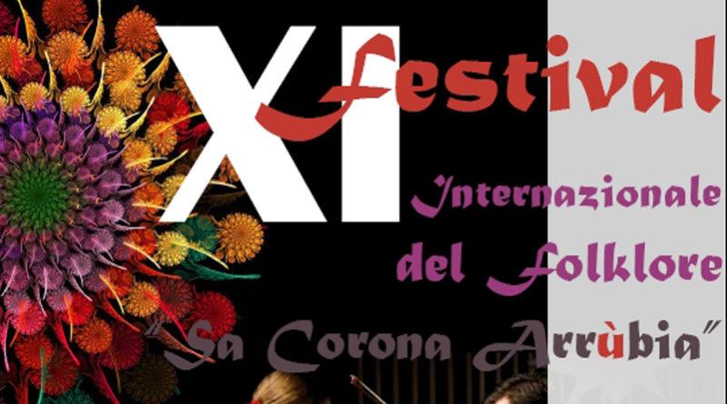 XI edizione Festival del Folklore Sa Corona Arrùbia dal 4 al 10 Agosto 2017