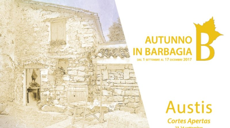 Austis Cortes Apertas dal 23 al 24 settembre 2017 programma completo