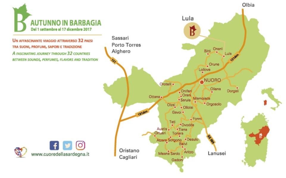 Lula Atonzu luvulesu dal 30 settembre al 1 ottobre 2017 programma e cartina