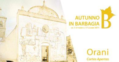 Orani Cortes Apertas dal 23 al 24 settembre 2017 ecco il Programma Completo.