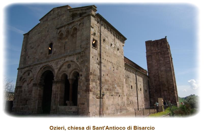 Ozieri chiesa di Sant'Antioco di Bisarcio