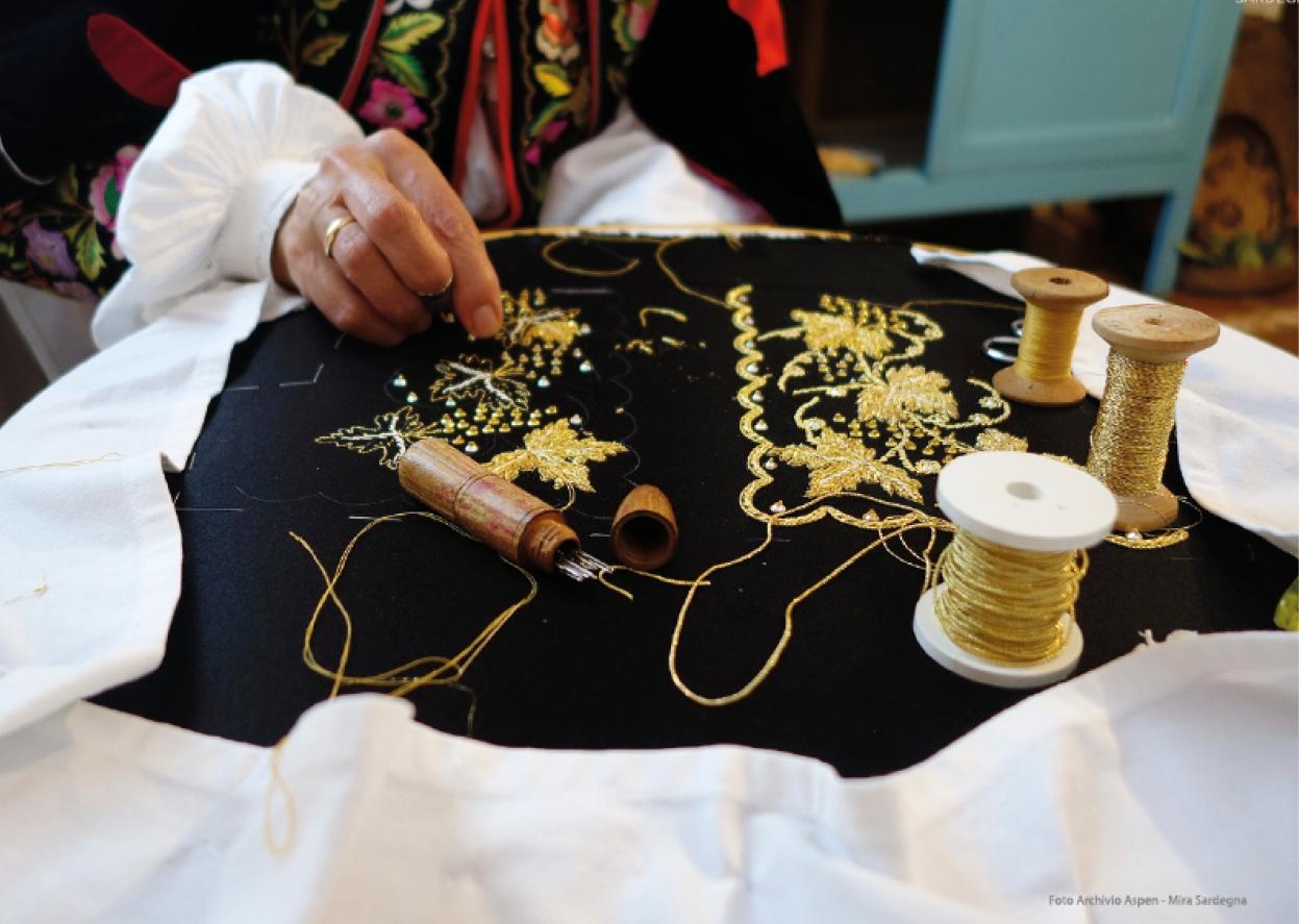 Sarule Cortes Apertas da 16 al 17 settembre 2017 ricamo tradizionale