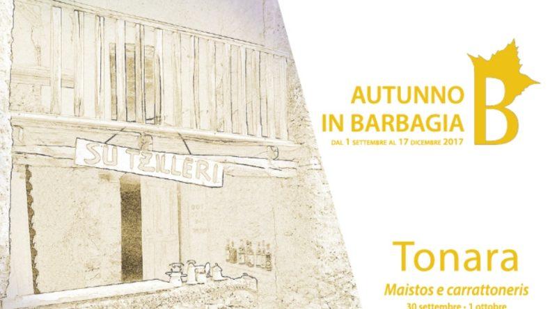 Tonara Cortes Apertas dal 30 settembre al 1 ottobre 2017 ecco il programma completo.